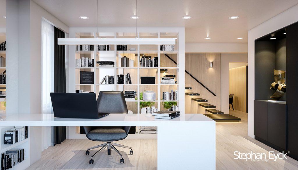 design interior spatiu pentru studiu