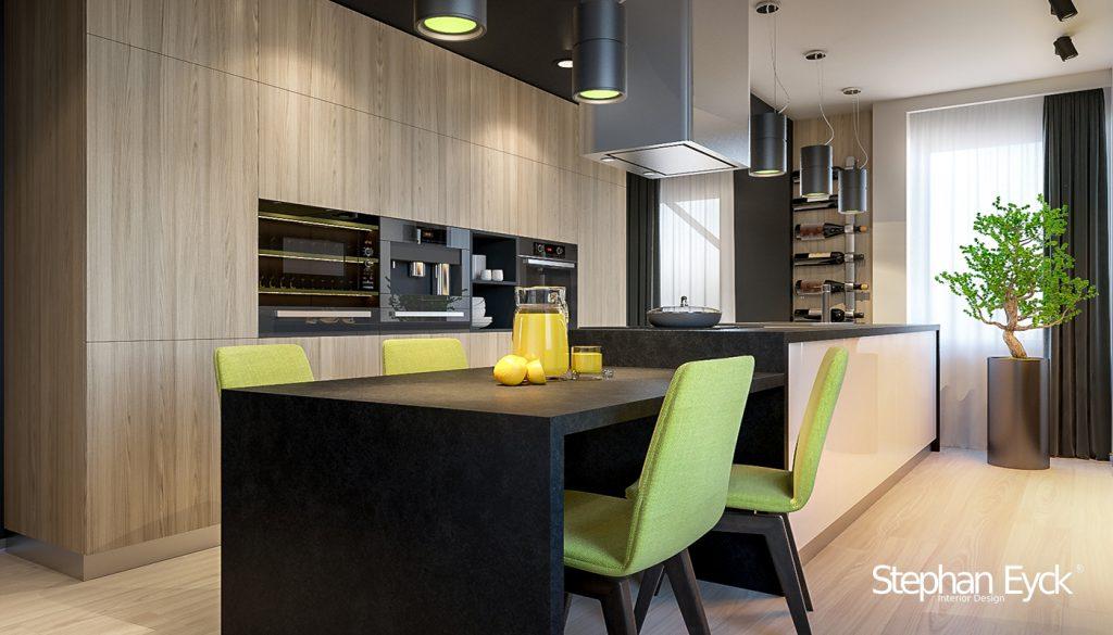 design interior bucatarie casa