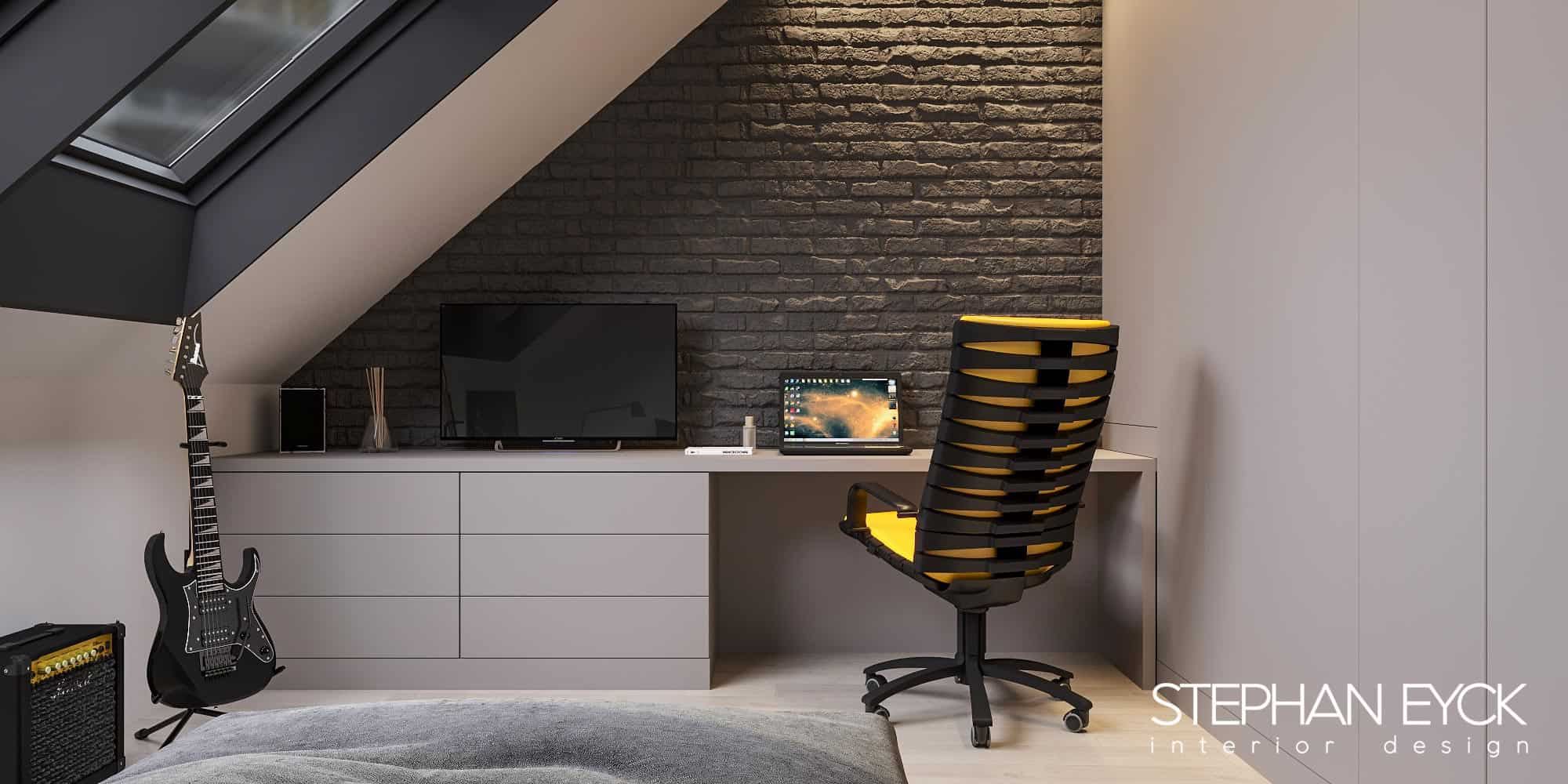 design interior birou penthouse 02