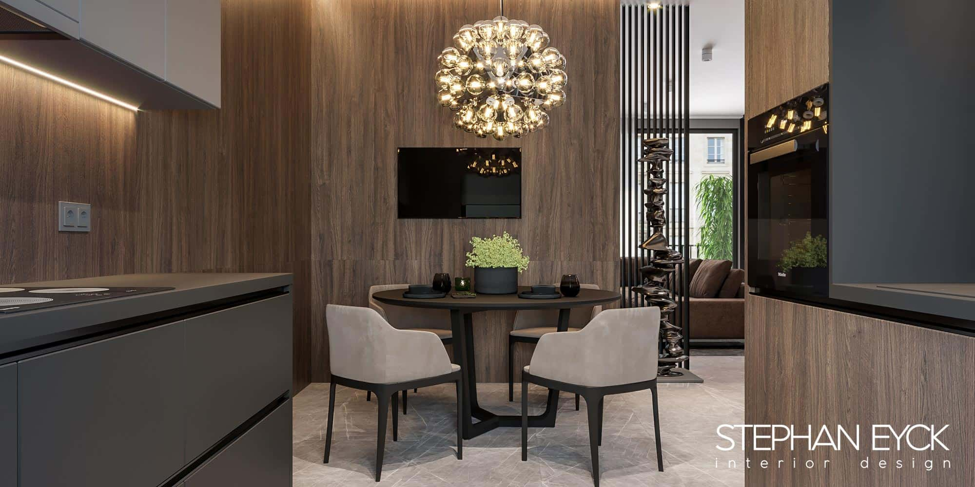 interior modern dining penthouse 02