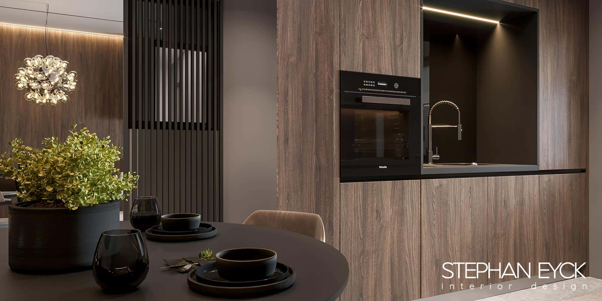 design interior bucatarie penthouse 02