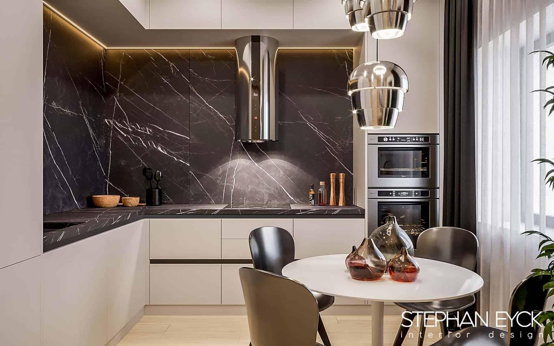 interior bucatarie penthouse03 Stephan Eyck