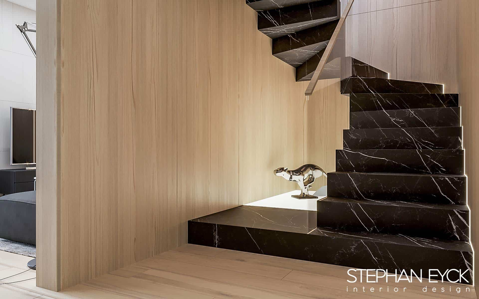 interior casa scarii Stephan Eyck