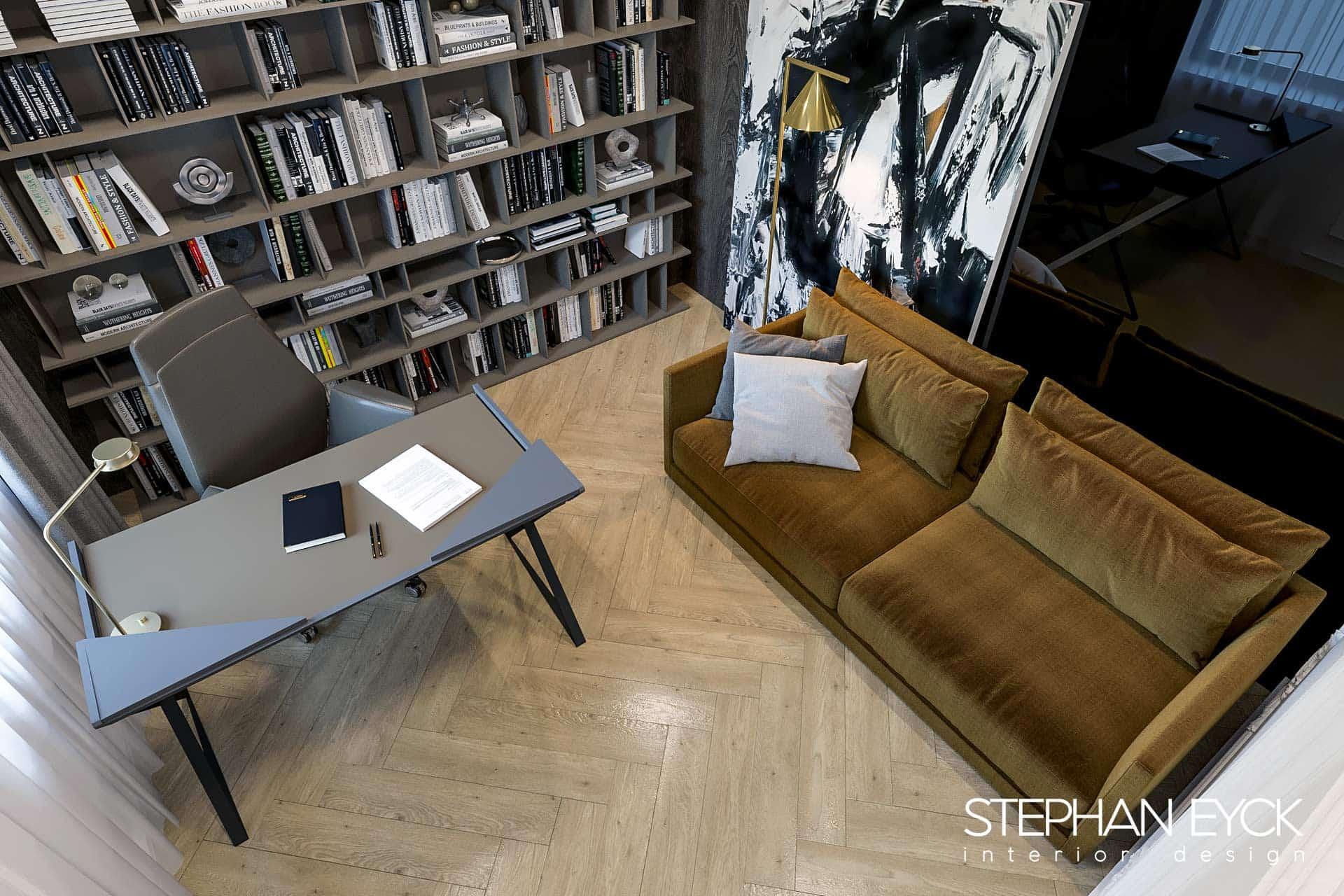 interior camera de studiu