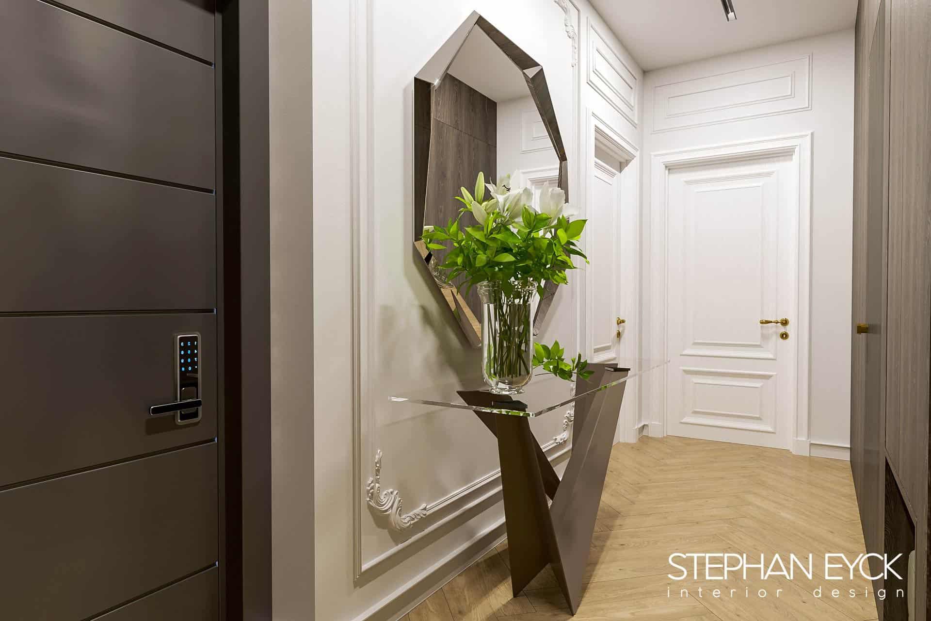 design interior hol intrare