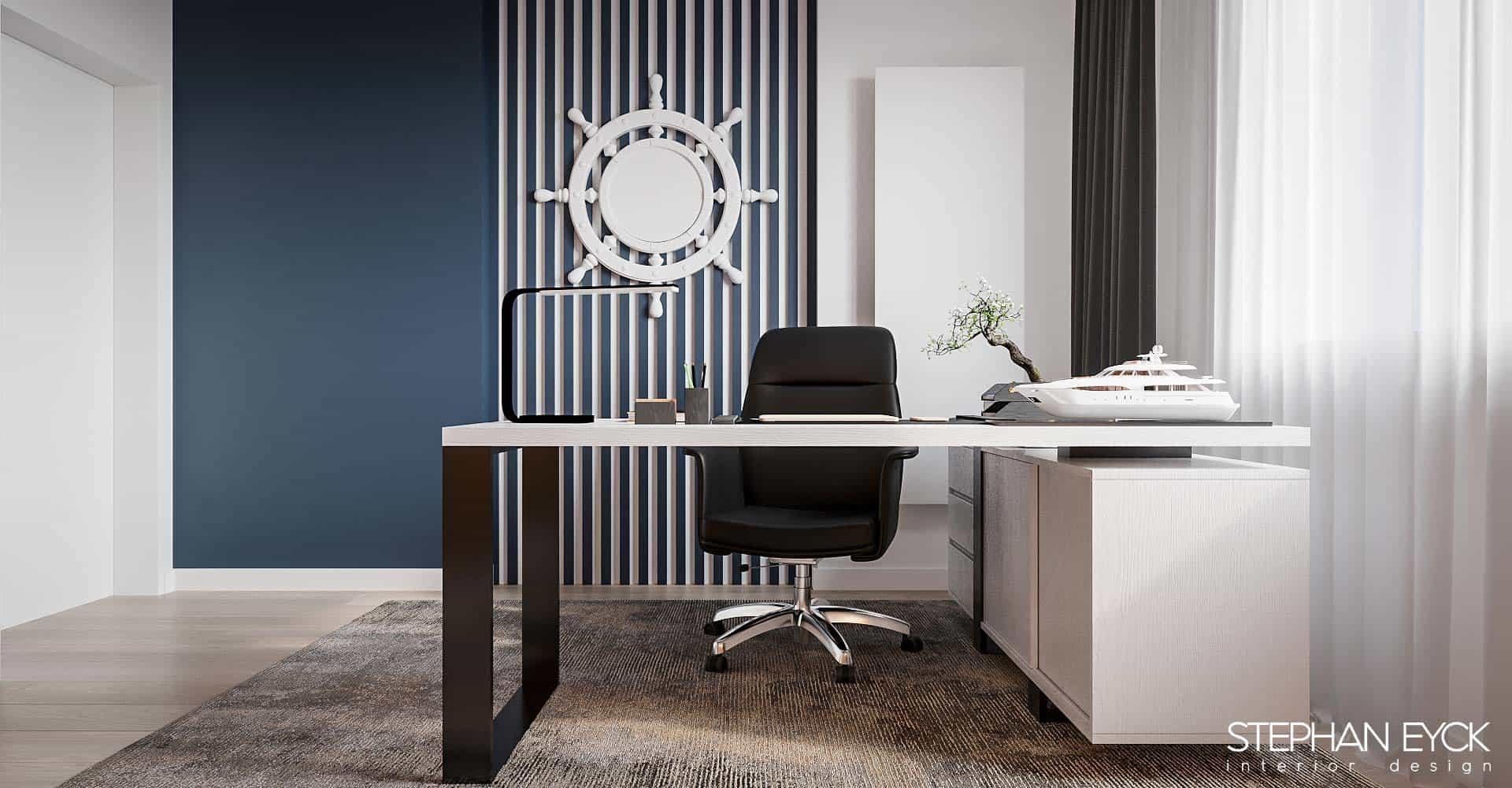 birou modern casa braila
