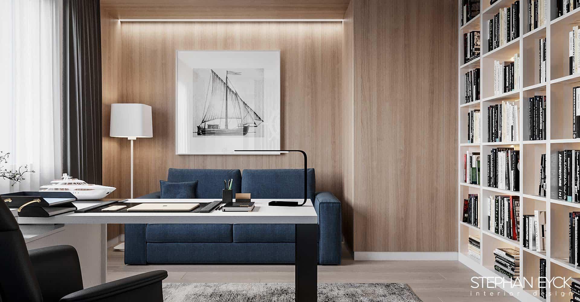 design birou casa braila