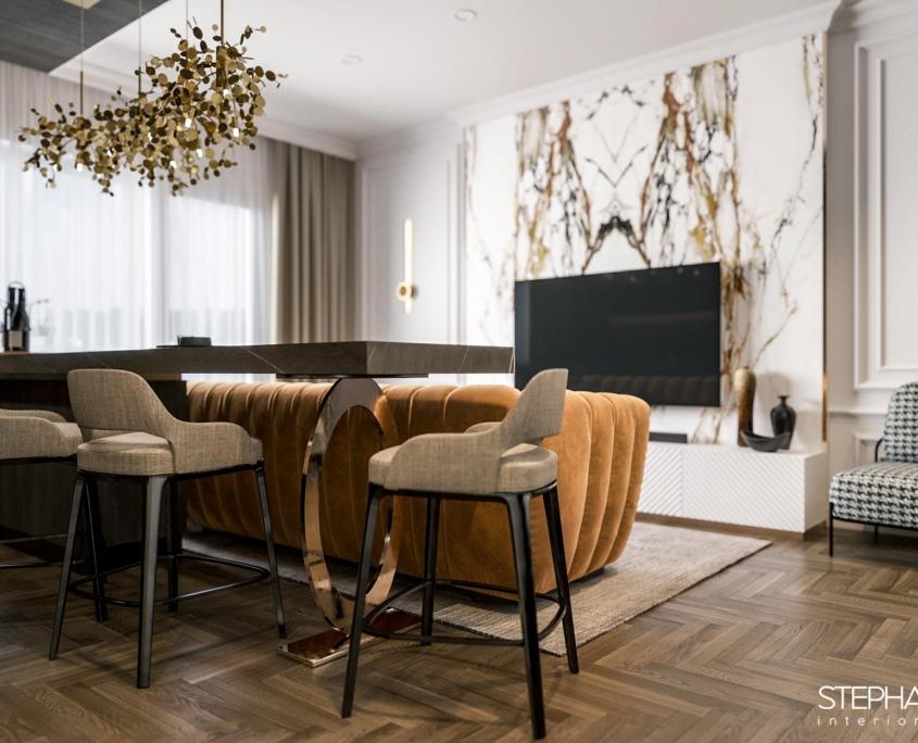 design interior apartament in stil contemporan