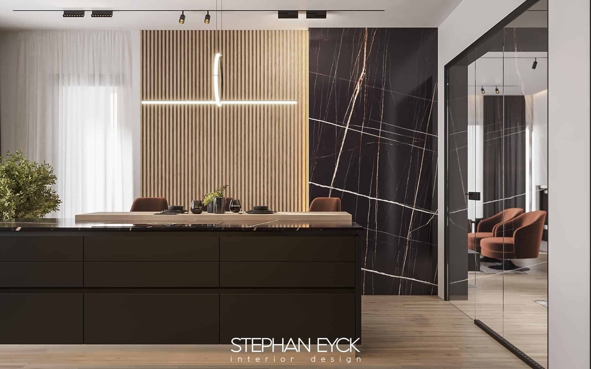 design interior bucatarie casa arad