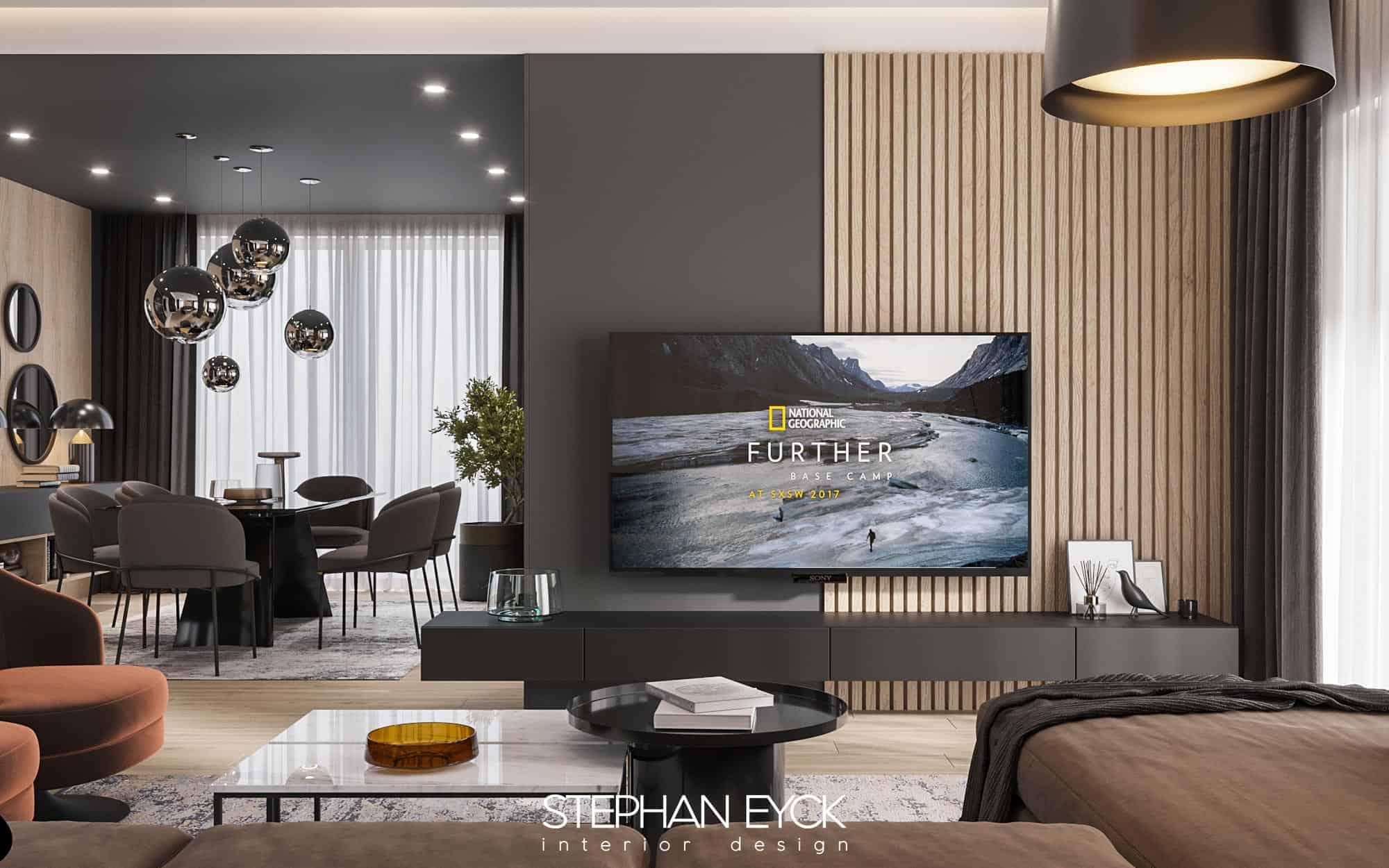 design de interior living room casa arad